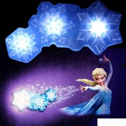 12 of Disney's Frozen Snowflake Light Dance