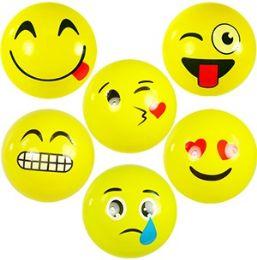144 of Small Inflatable Emoji Bounce Balls.