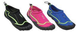 30 of Womans Aqua Shoes Assorted Color