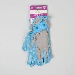 56 of Gloves Womens Long Cuff Grip Med Multi Purp Spndx Back