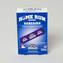 72 of Bandages 20ct Box Home Run Brands -