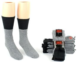 24 of Men's Thermal Tube Boot Socks - Size 10-13