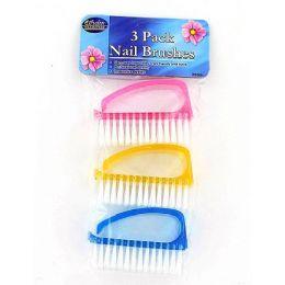 36 of 3 Pc Finger Nail Brushes