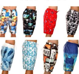 48 of Men's Fashion Printed Bathing Suit
