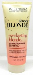 100 of John Frieda Everlasting Blonde Shampoo, 1.5oz