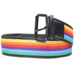 24 of Men Rainbow Belt