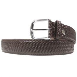 36 of Men's Fashion Brown Belt Braided