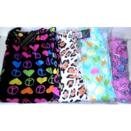 36 of Women's Printed Fleece Sleep Pants