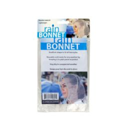 72 of Bouffant Style Rain Bonnet