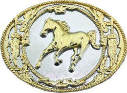 12 of Golden Horse Belt Buckle