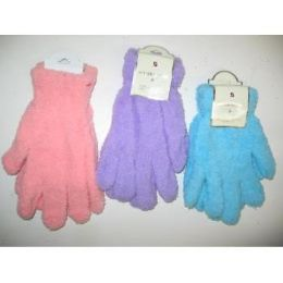 144 of Women's Fuzzy Gloves