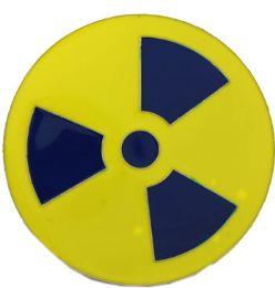 24 of Radiation Warning Belt Buckle