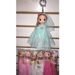 72 of Keychain With Doll In Beautiful Outfits