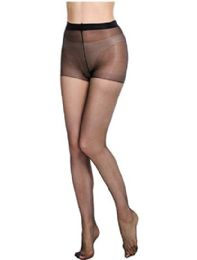 36 of Ultra Sheer Queen Size Pantyhose In Black