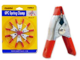 96 of 6pc Spring Clamps
