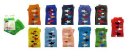 48 of Assorted Colored Capri Tights With Star Designs In A Scattered Line