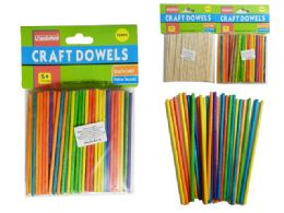 144 of 100 Piece Craft Dowels