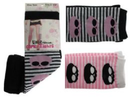 48 of Black, Pink And White Capri Tights With Skull And Stripes Designs.