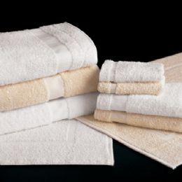 24 of White Bath Towels Standard Size 24 X 48