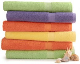 24 of Martex Staybright Solid Color Luxury Bath Towel 30 X 54 Green Ice