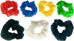72 of Assorted Color Scrunchies