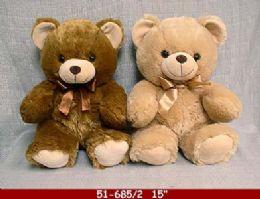 """12 of 15"""" Soft Plush Bear"""