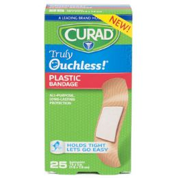 48 of Bandages Curad 25ct Ouchless