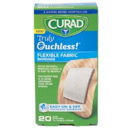 48 of Bandages Curad 20ct Ouchless 1 In Spot Silicone