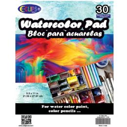 36 of Water Color Pad, 8.5x11, 30 Sheets