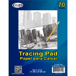 36 of Tracing Pad, 8.5x11, 70 Sheets
