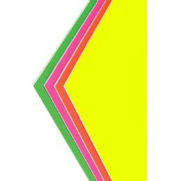 "50 of Foam Board - Assorted Neon Colors - 20"" X 30"""