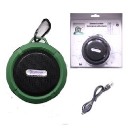 12 of Waterproof Bluetooth Shower Speaker In Green