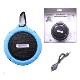 12 of Waterproof Bluetooth Shower Speaker In Blue