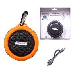 12 of Waterproof Bluetooth Shower Speaker In Orange