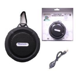 12 of Waterproof Bluetooth Shower Speaker In Black