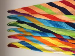 """12 of Luxury Beach Towel Double Jacquard """" Life """" Assorted Colors 34 X 63"""