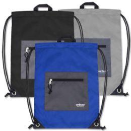 48 of Urban Sport 18 Inch Drawstring Bag - 3 Colors