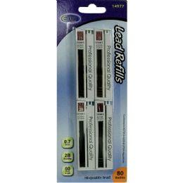 48 of Pencil Lead Refill 0..7mm - 80 / Pcs