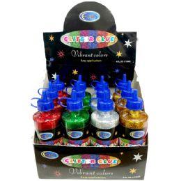 48 of Glitter Glue - 4 Ounce Bottle - Colors