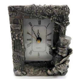 10 of Pewter Framed Clock With A Cat As A Soldier
