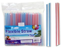 48 of 50 Pc Jumbo Flexible Straws