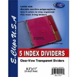 72 of Index Dividers