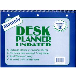 48 of Undated Monthly Diary - 2 Pk.