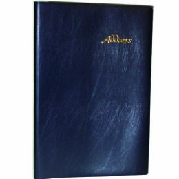 48 of Vinyl Address Book, 5 X 7, Asst. Colors