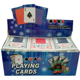 60 of Playing Cards, 5 Inners Of 12