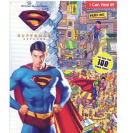 48 of Superman Returns Official Movie Book Includes Activity