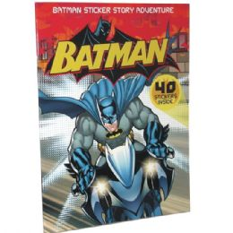 48 of Batman Sticker Story Adventure 40 Stickers Included