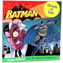 "48 of Batman ""heads Or Tails"" Book Plus Bonus Activity"