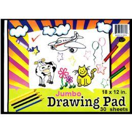 48 of Jumbo Drawing Pad, 9x12, 30 Sheets
