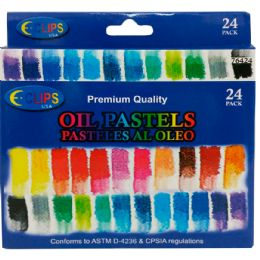 48 of Oil Pastels 24 Pack